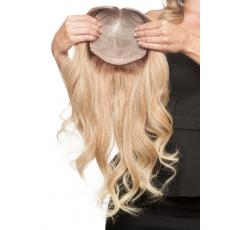 European Human Hair Bleach Blonde Natural Wave Long Human Hair Toppers For Young Girl In UK