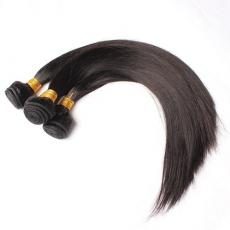 Best Black Weave Styles Human Hair Weaving Extensions 3pcs/Lot Silky Straight