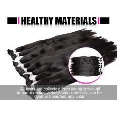 7A Grade Indian Remy Human Hair Bundles Full Soft Healthy Unprocessed Raw Materials 10pcs
