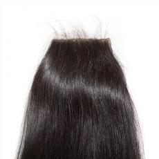 Elegant High Quality Heathy Soft Straight 6A Virgin Brazilian Human Hair Silk Base Closure