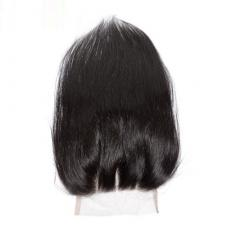 Lots Of Volume 150 Density Soft Natural Straight 6A Virgin Peruvian Human Hair Lace Base Closure