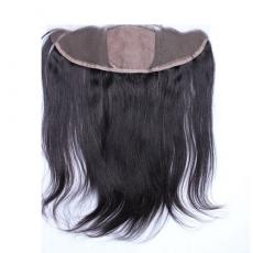 Cheap 13*4 Silk Base Frontal Closure With Baby Hair 7A Malaysian Virgin Human Hair