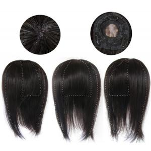 Natural Human Hair Wigs Toppers For Women With Thinning Hair