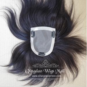 Fine Mono Base Women's Human Hairpieces For Thinning Hair In Toronto