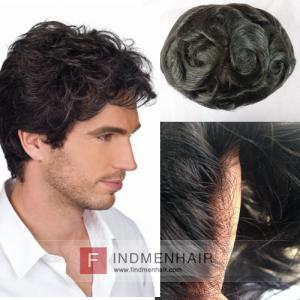 Black Body Wave Remy Human Hair Mens Wigs And Toupees In Dubai