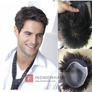 Light Density Asian Mens Human Hair Wigs And Toupees Singapore