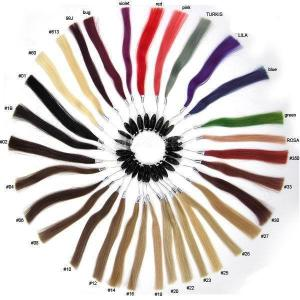 100% Human Hair Color Ring