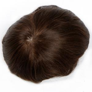 Super Quality Instock Natural Brown Full Swiss Lace Human Hair Wigs For Men
