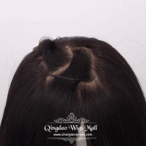 Silk Base Top Hairpieces Human Hair Toppers For Women With Thinning Hair