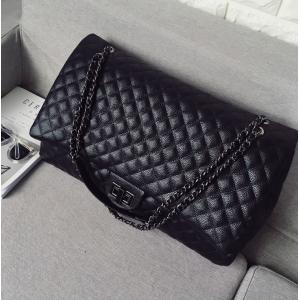 Caviar Black Diamond Lattice Handbag Free Shipping