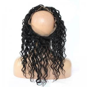 Pre Plucked 360 Lace Frontal Closure Deep Wave With Baby Hair