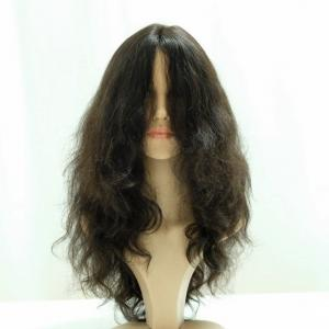 Fascinating Natural Long Loose Wavy Textured Lace Front Wigs For Sale 22inch
