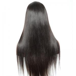 Free Parting Smooth Silky Straight Lace Front Human Hair Wigs 24 inch