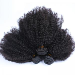 Afro Kinky Curly Hair Brazilian Hair Weave Bundles 100% Human Remy Hair Extensions