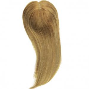 Golden Blonde Top Form Remy Human Hair Top Hair Pieces Hair Toppers
