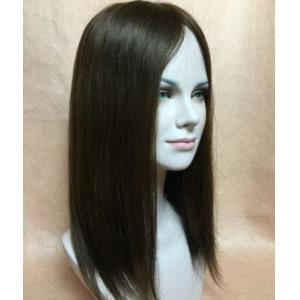100% human hair topper fall top piece for women,Crown Bangs white hair cover