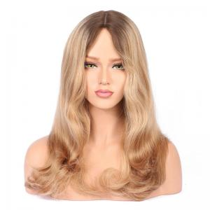 Remy European Human Hair Wigs Bobo Wigs Blonde Ombre Jewish Wig For Women Hand Made